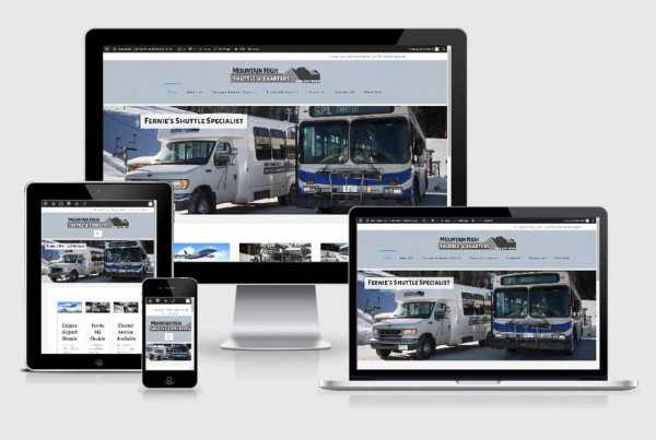 Mountain High Shuttle | Fernie Web Design, Marketing and SEO | Wigwam Media