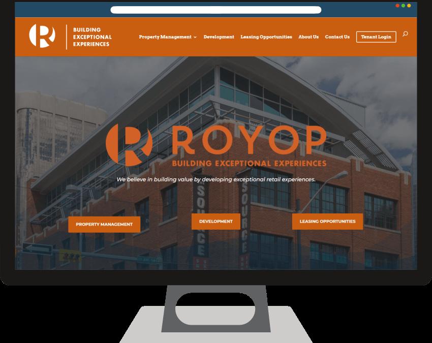 Royop Development Corporation Web Design