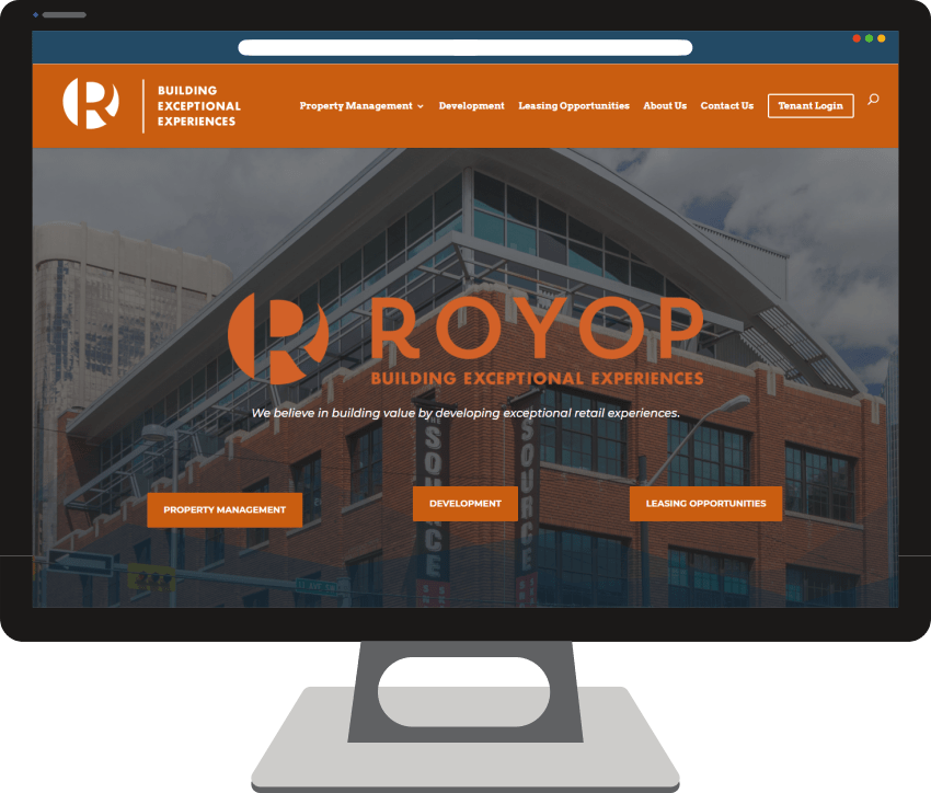 Royop Development Corporation Web Design