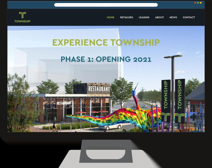 Township Shopping Center Web Design